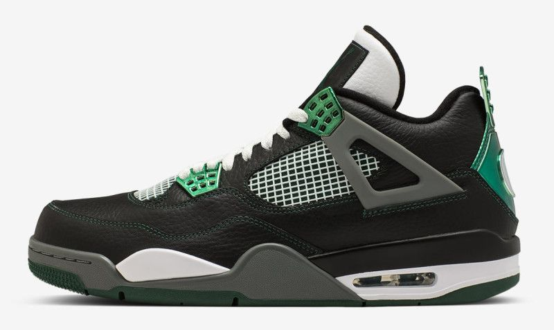 designer fashion aa746 40cd3 Oregon Ducks Air Jordan 4 Chrome - Oregon Ducks Air Jordans   Sole Collector