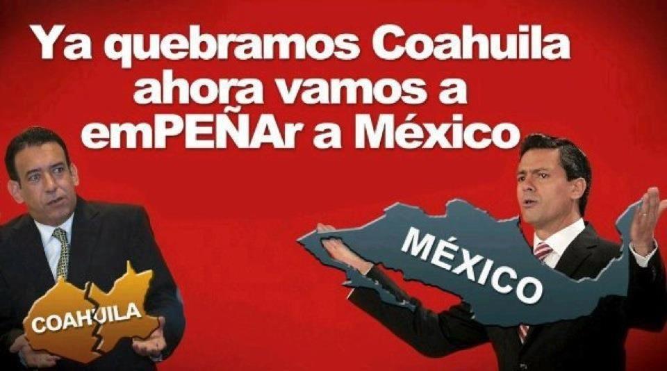 """Dice @EPN: """" Ahora vamos por #México """" #Moreira ¡avala! #Monterrey #PecadosDeLaModa #Coahuila #twittab"""