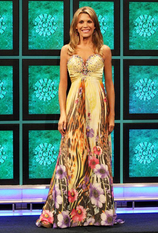 Vanna White Of Wheel of Fortune & ALYCE Paris 2013 Prom Dresses ...