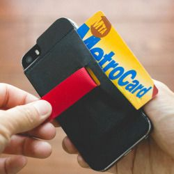 Combine your wallet with your phone and reduce the clutter you carry everyday. Slim design and cards are easy to retrieve.