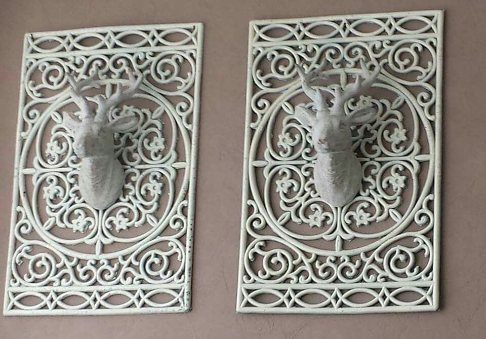 Actionhertenkop en deurmat  DIY  Woonkamer knutselen