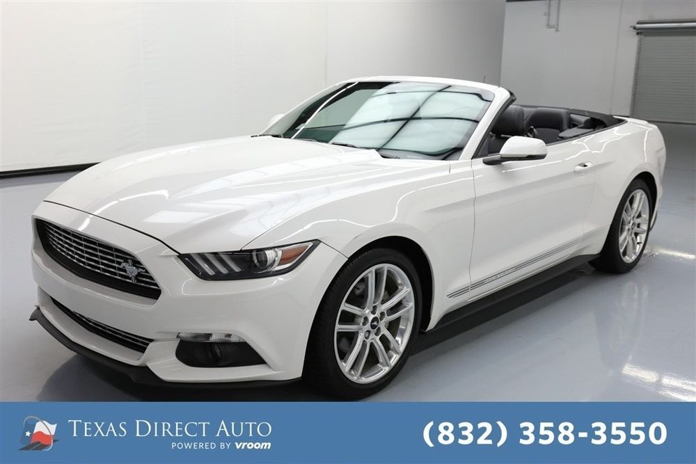 Ebay 2017 Ford Mustang Ecoboost Premium Texas Direct Auto Used Turbo 2 3l I4 16v Automatic Rwd