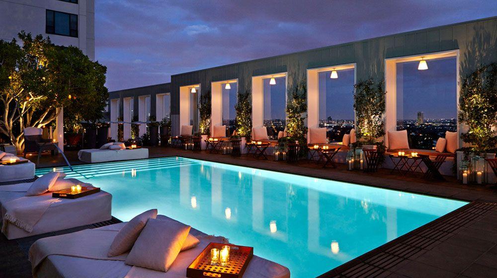 Mondrian Hotel Best Hotelswest Hollywoodla