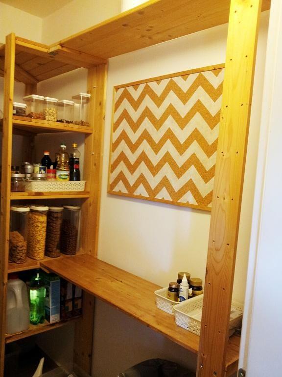 plain jane: diy chevron corkboard and Vrsi Mulo | deco | Pinterest