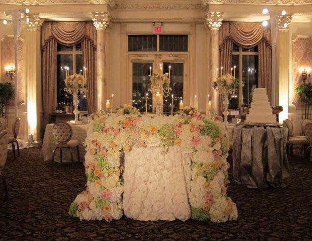 Bride Groom Table Floral Decor Amaryllis Event Decor Northvale