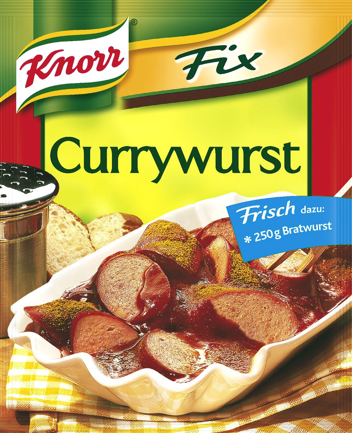 Knorr Fix Currywurst (Curry Sausage Mix) - Euro Food Mart   Fine Imported Foods from Europe