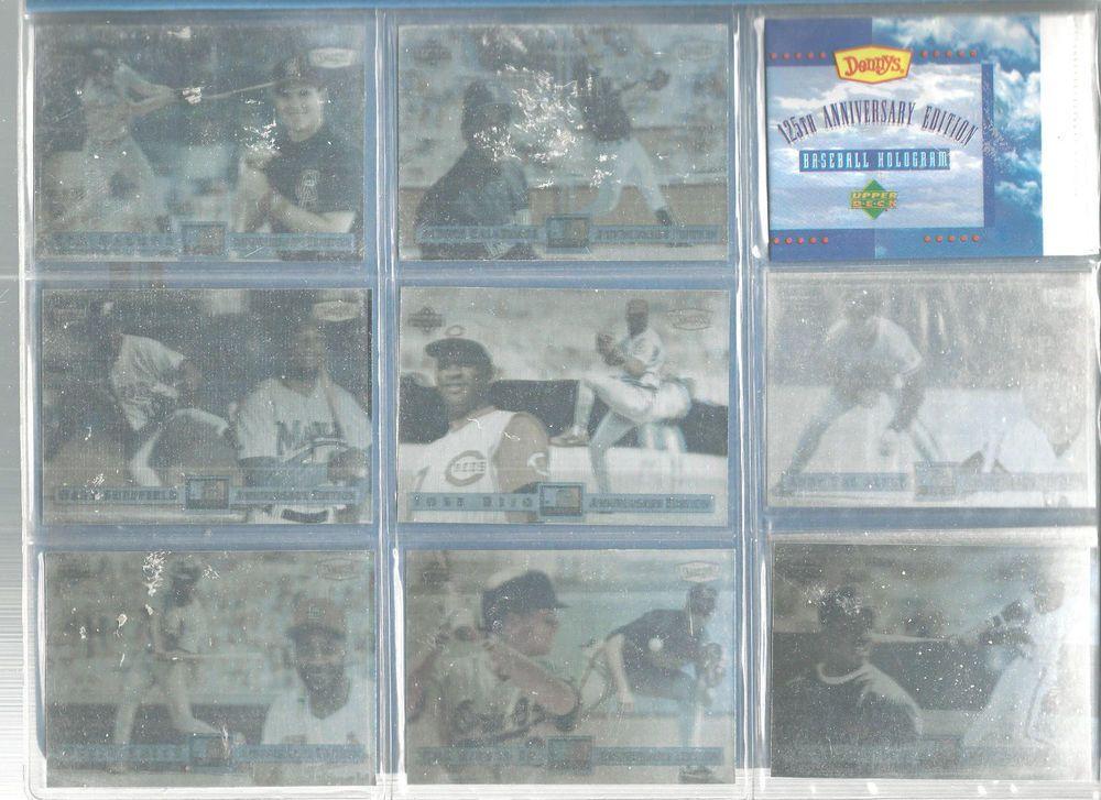 Upper Deck Limited Edition Hologram Baseball Cards 1994