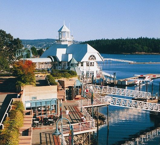 Places To Visit In Vancouver During Summer: Harbour In Nanaimo British Columbia On Vancouver Island