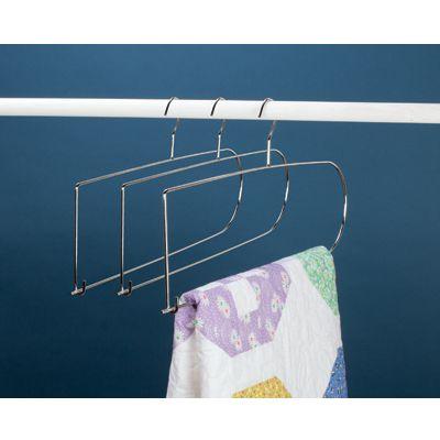 Chrome Quilt Hanger Sewing Amp Craft Club Quilt Hangers