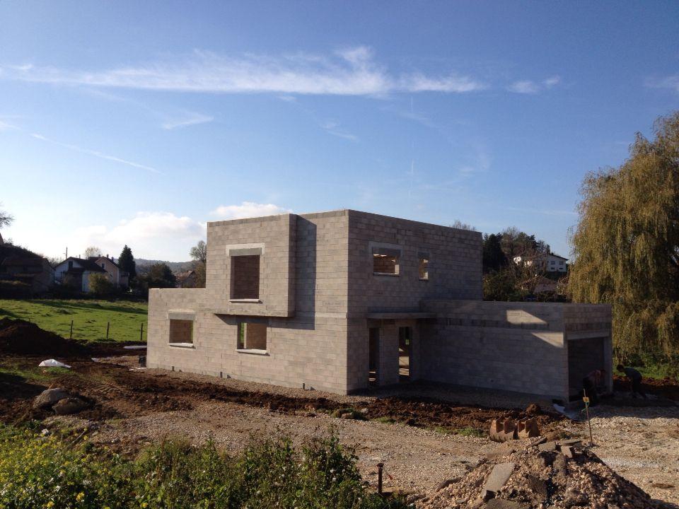 Construction en cours à Héricourt