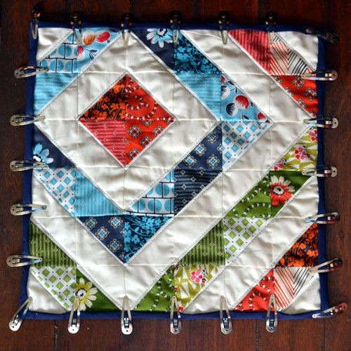use inexpensive hair clips instead of expensive quilt binding ... : expensive quilts - Adamdwight.com