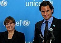 newest Goodwill Ambassador tennis star Roger Federer hits an ace for childrenaceUNICEFs newest Goodwill Ambassador tennis star Roger Federer hits an ace for childrenace 1...