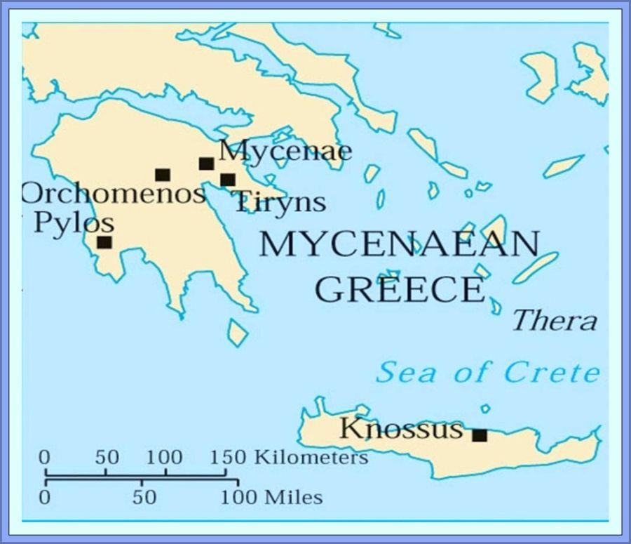 Bronze Age Minoans And Mycenaeans School At Home Social Studies