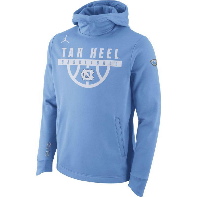 66c234d2 Jordan Men's North Carolina Tar Heels Carolina Blue Basketball Performance  Elite Hoodie, Size: Small, Team