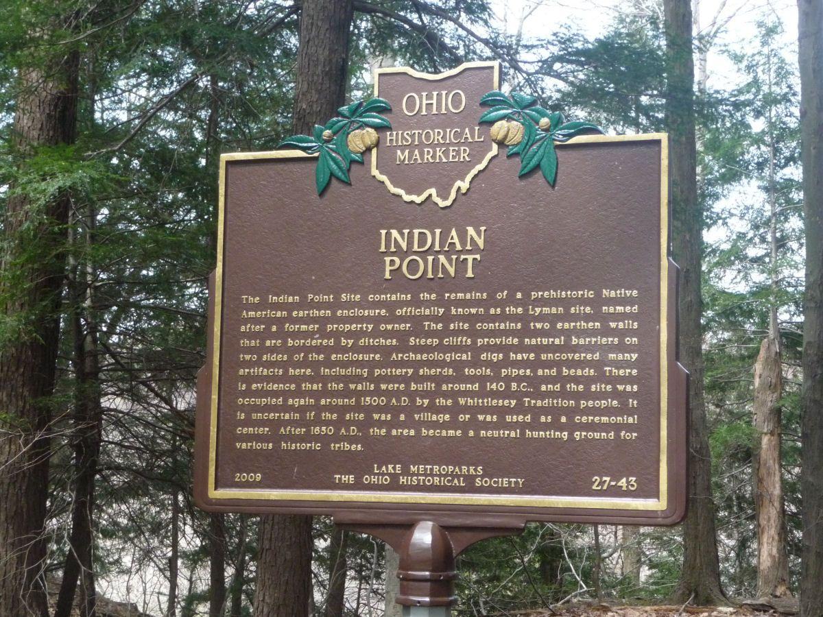 Indian Point Metropolitan Park Painesville Ohio