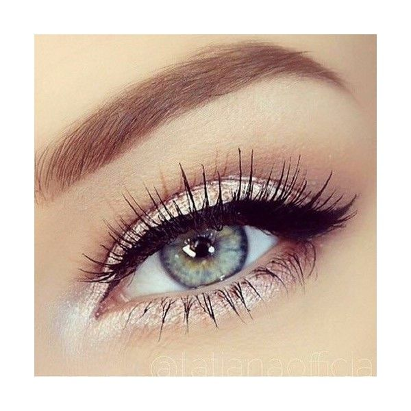 16 Paso a paso para maquillarte como una profesional ❤ liked on Polyvore featuring beauty products, makeup, eye makeup, eyes y eye shadow