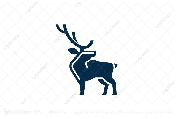 Exclusive Logo 22497 Modern Corporate Elk Logo Simple Logo