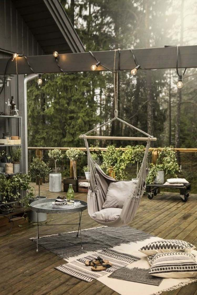 31 Heavenly outdoor hammock ideas making the most of summer ...