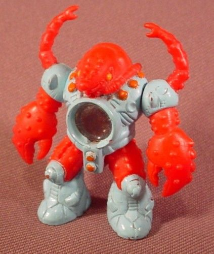 Second style of Battle Beasts had the clear dome to view the symbol they had (earth, wind, fire)