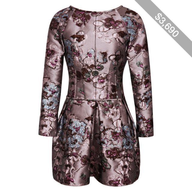Nina Ricci Brocade Dress