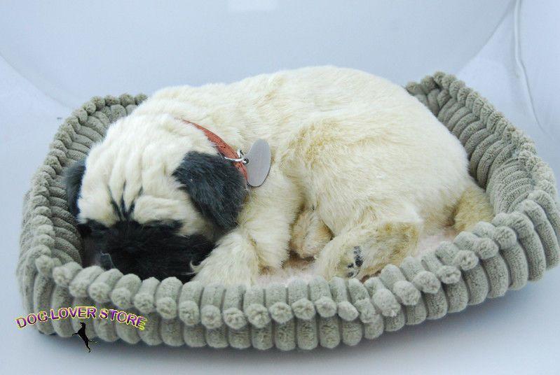Pug Perfect Petzzz Life Like Stuffed Animal Breathing Dog Pugs