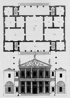 Palazzo Valmarana Vincenza Arch Andrea Palladio 1566 Renaissance Architecture Andrea Palladio Architectural Prints