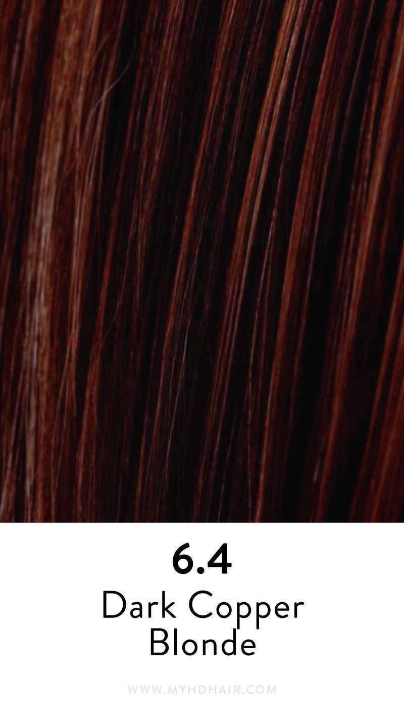 6 4 Dark Copper Blonde Met Afbeeldingen