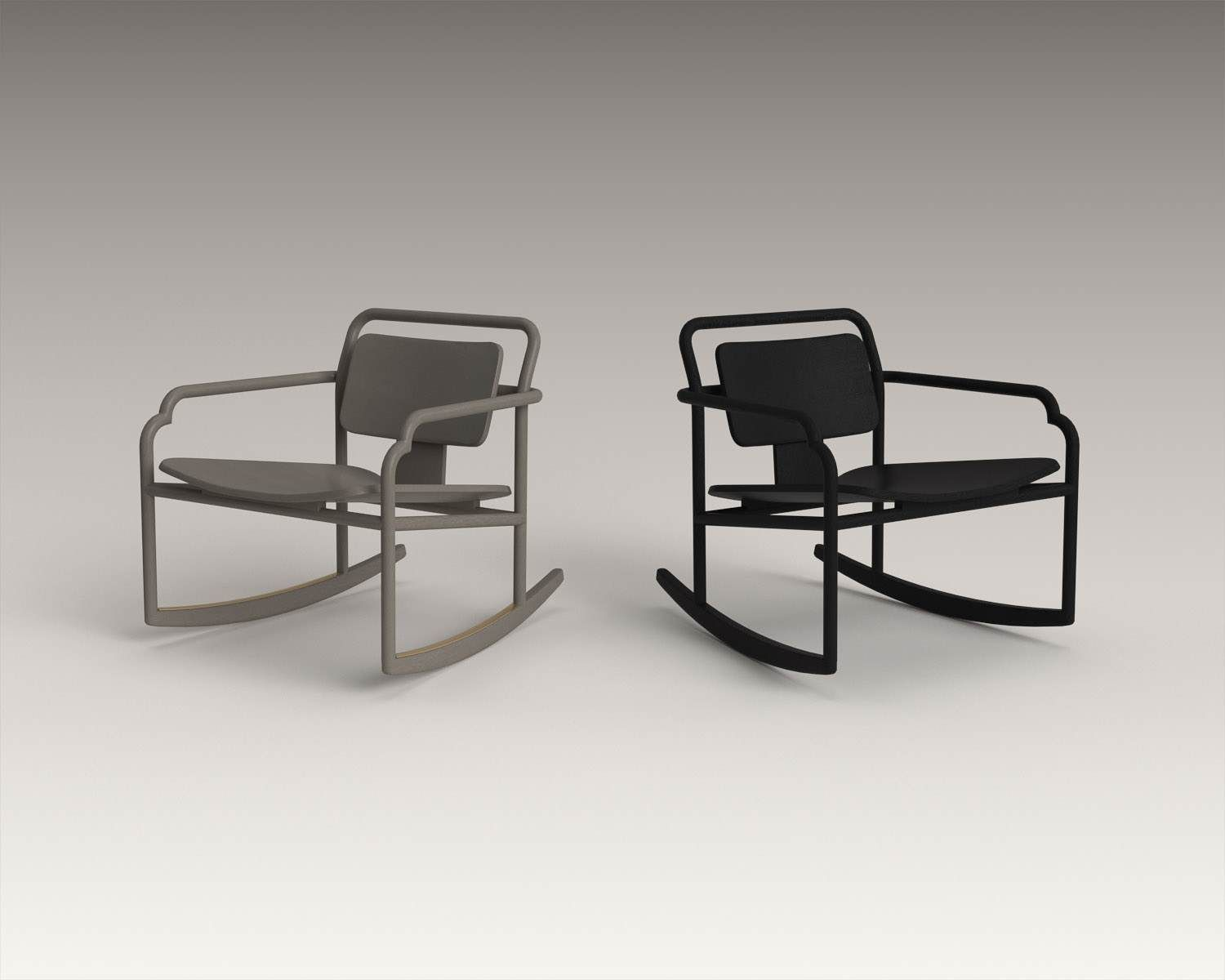 The rocking chair marceau is a tribute to the american couple of