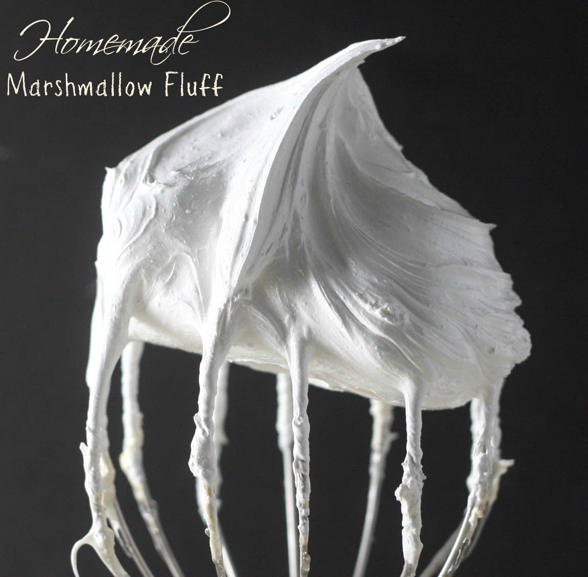 Homemade Marshmallow Fluff #marshmallowflufffrosting