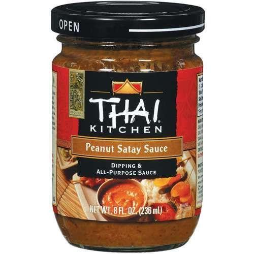 Thai Kitchen Peanut Satay Sauce (12x8 Oz)   Yum ...