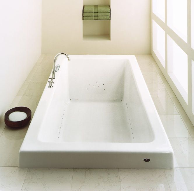 7 Foot Bathtub With Slanted Ends For Reclining Master Whirlpool