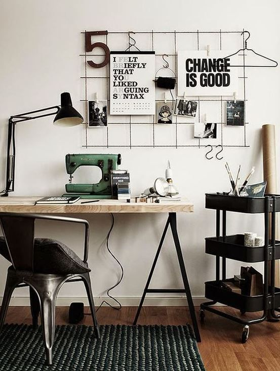 10 Cute Desk Decor Ideas For The Ultimate Work Space Dorm and - Home Office Decor Ideas