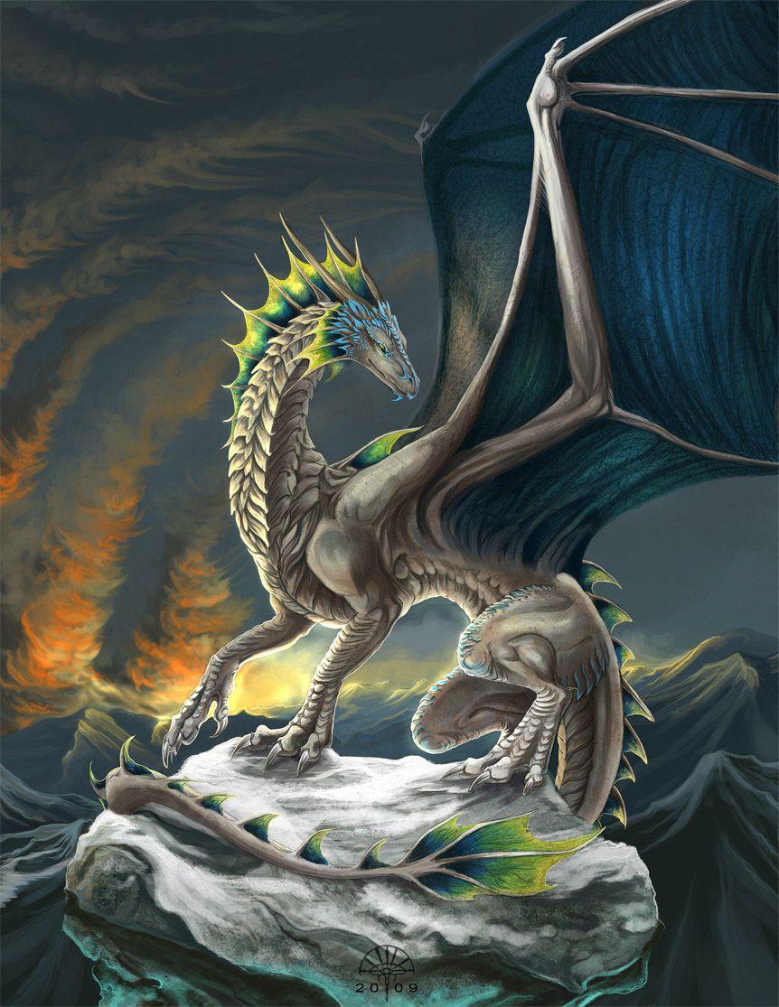 Интересные картинки с драконами