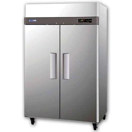 Alpha At56r Commercial 2 Door Top Mount Reach In Refrigerator Alpha Top Mount Commercial Glass Doors Refrigerator Dimensions