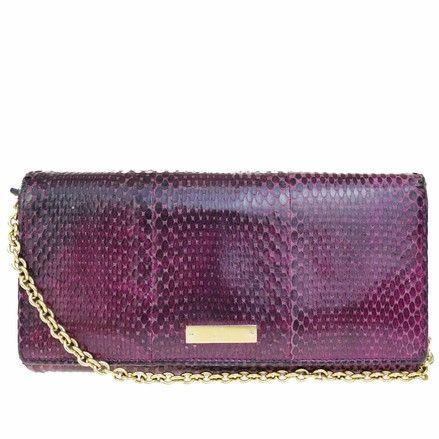 ded6634c955 Gucci Purses, Purple Gold, Vintage Purses, Gold Accents, Python, Leather  Wallet