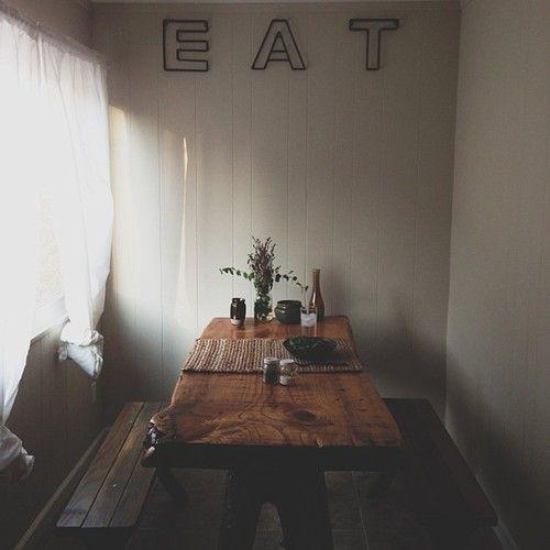 Dinner nook.