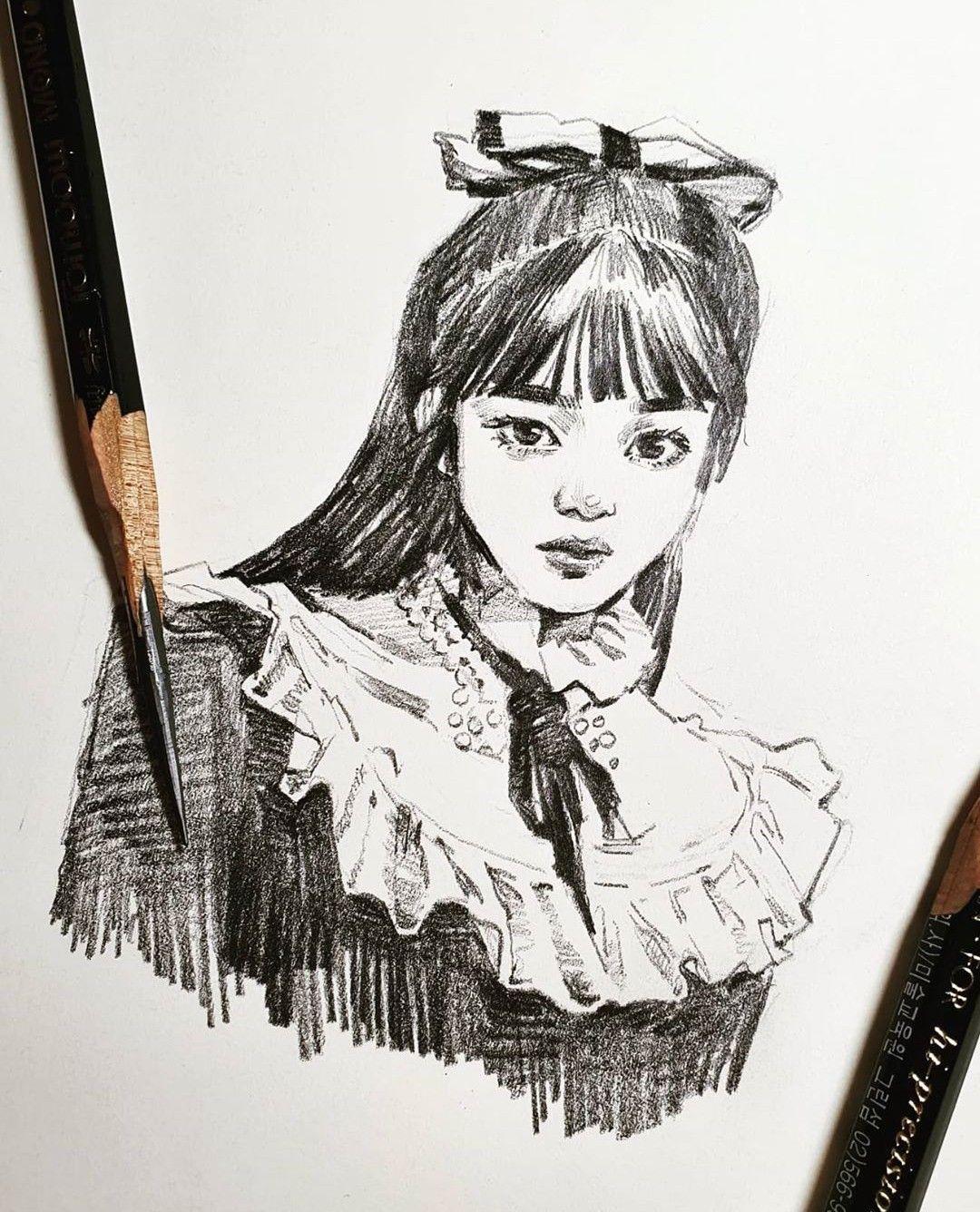 Joy Fan Art Fanart Red Velvet Park Sooyoung Psycho In 2020 Kpop Drawings Drawings Red Velvet Joy