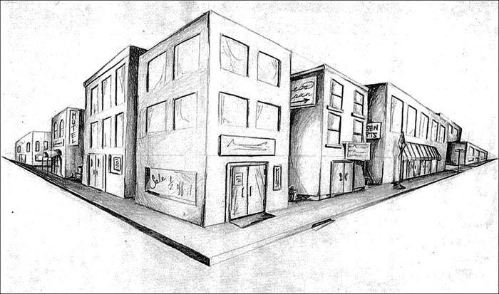 pin von menarchitect auf 3d drawing pinterest perspektive perspektive zeichnen und fluchtpunkt. Black Bedroom Furniture Sets. Home Design Ideas
