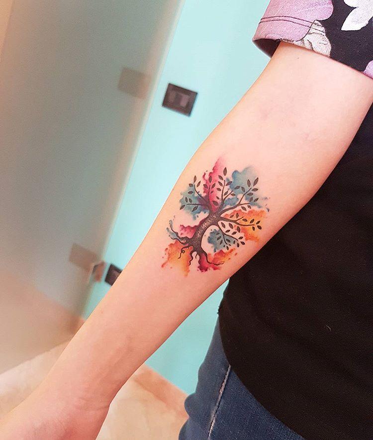 chen jie l39artiste chinois qui tatoue de jolies. Black Bedroom Furniture Sets. Home Design Ideas