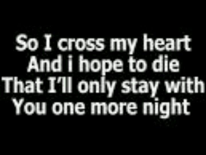Maroon 5 One More Night Nights Lyrics One More Night Great Song Lyrics
