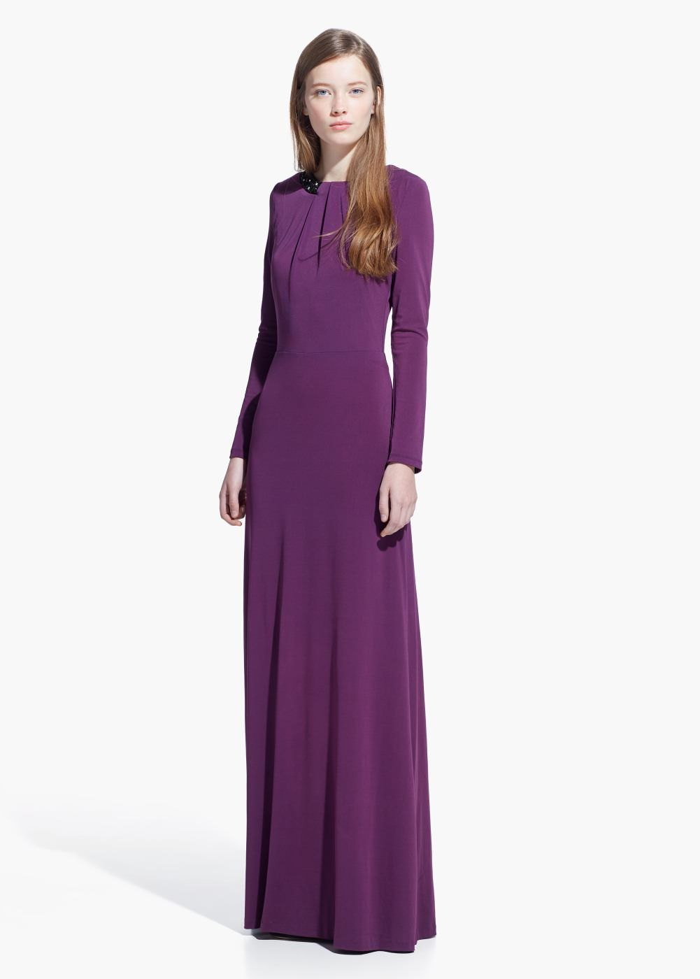 Vestido largo lentejuelas - Mujer | Lentejuelas, Trajes de fiesta y ...