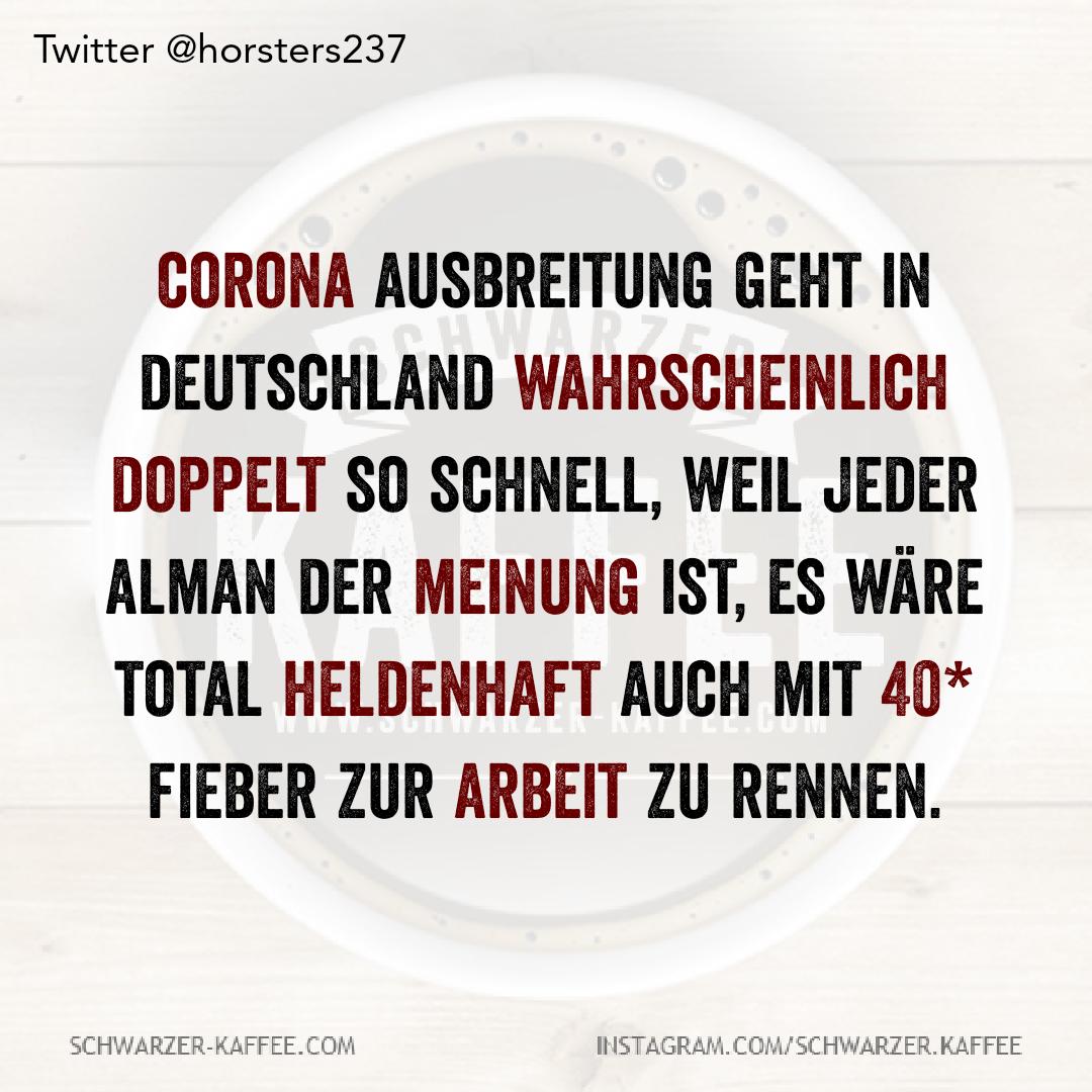 Corona Schwarzer Kaffee Deutsche Witze Corona