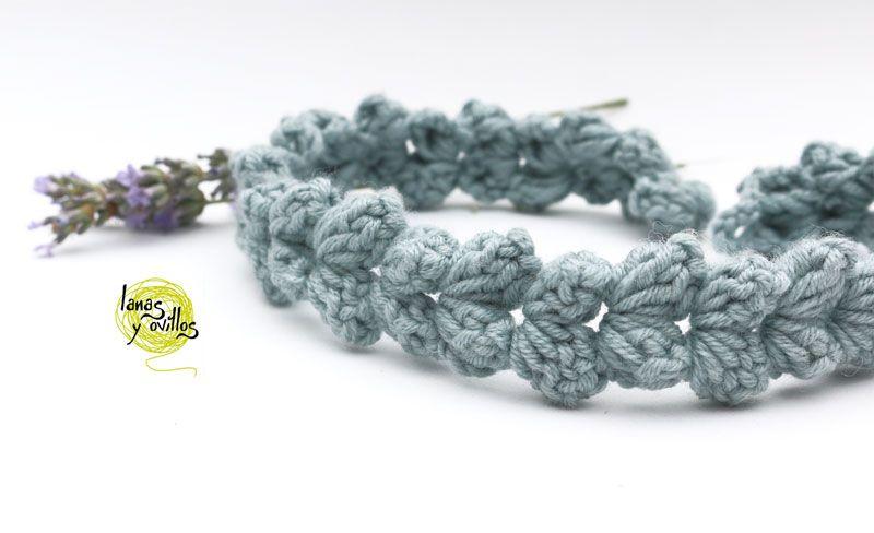 CINTA PELO | Lanas y ovillos | Crochet - Croxet | Pinterest | Cintas ...