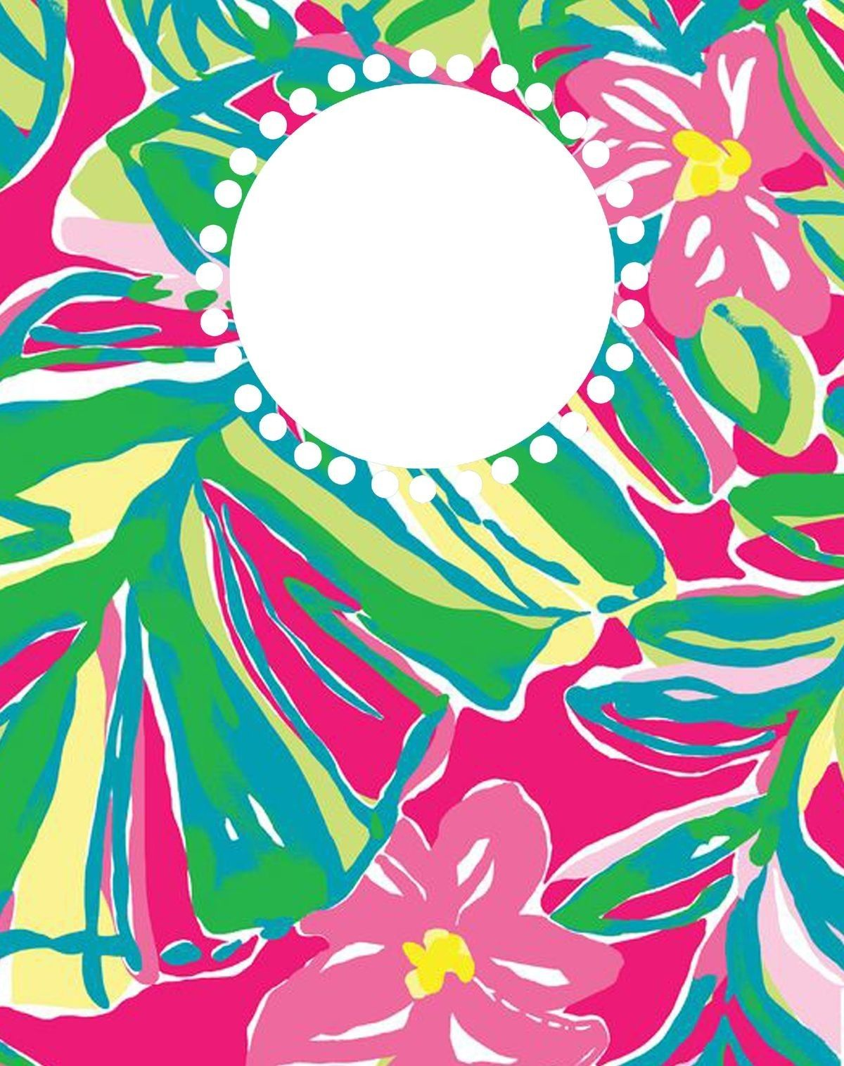 Pin by Melinda Elliott on Lilly Pulitzer Binder covers