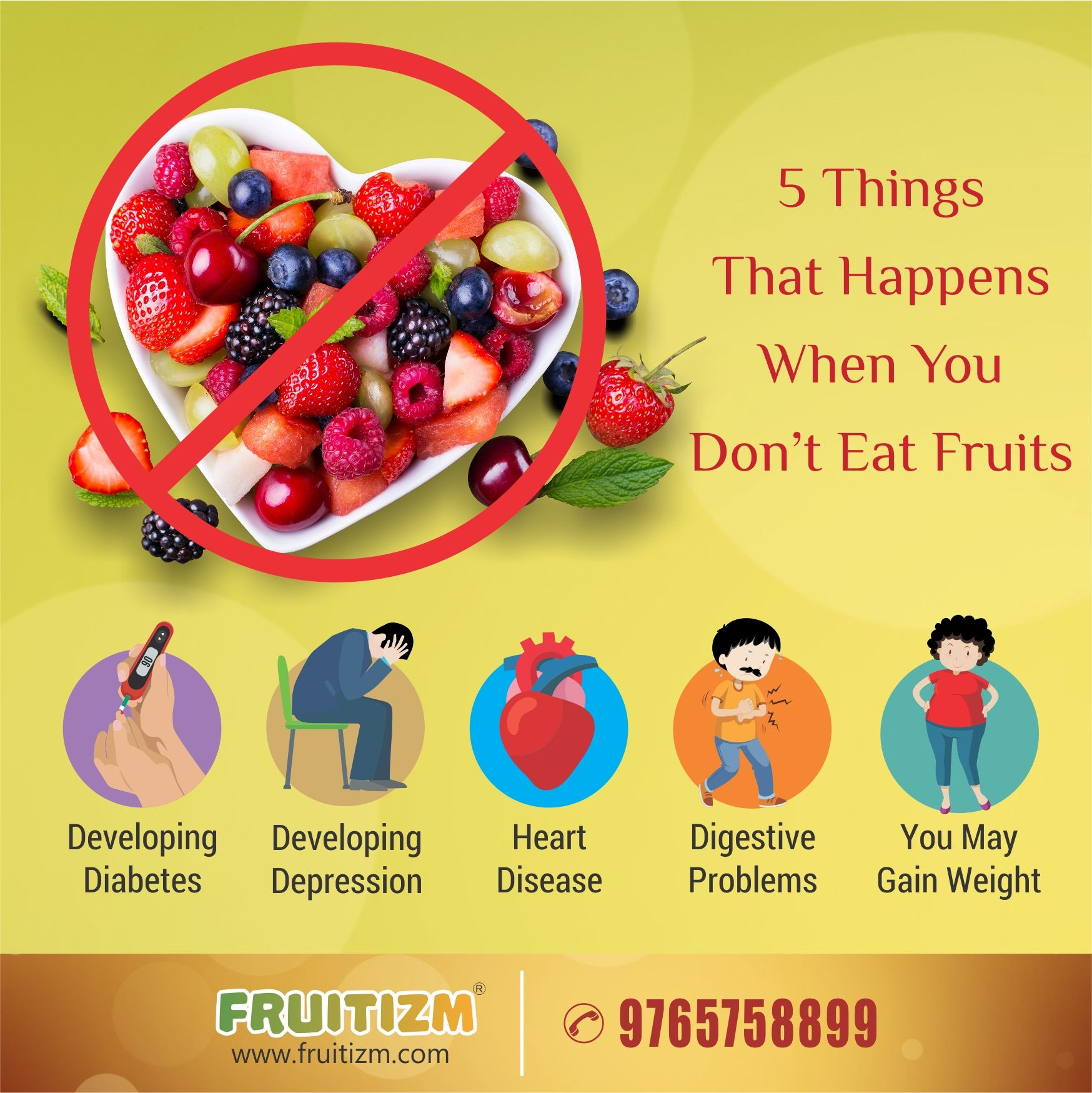 5 Things That Happens When You Don T Eat Fruits Recharge Your Body