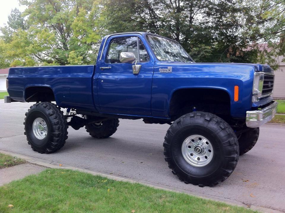 78 Custom Deluxe | Chevrolet Trucks | 4x4 trucks, Trucks