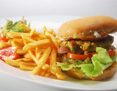 Matar paneer burger bread sandwiches pinterest burgers food forumfinder Choice Image