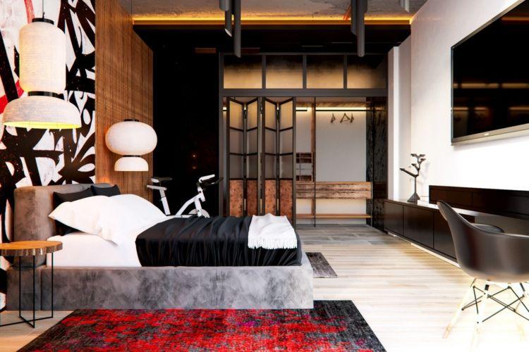 Schlafzimmer Grau Rot #26: Mit Diesen Farben Können Sie Grau Bei Der Raumgestaltung Kombinieren!