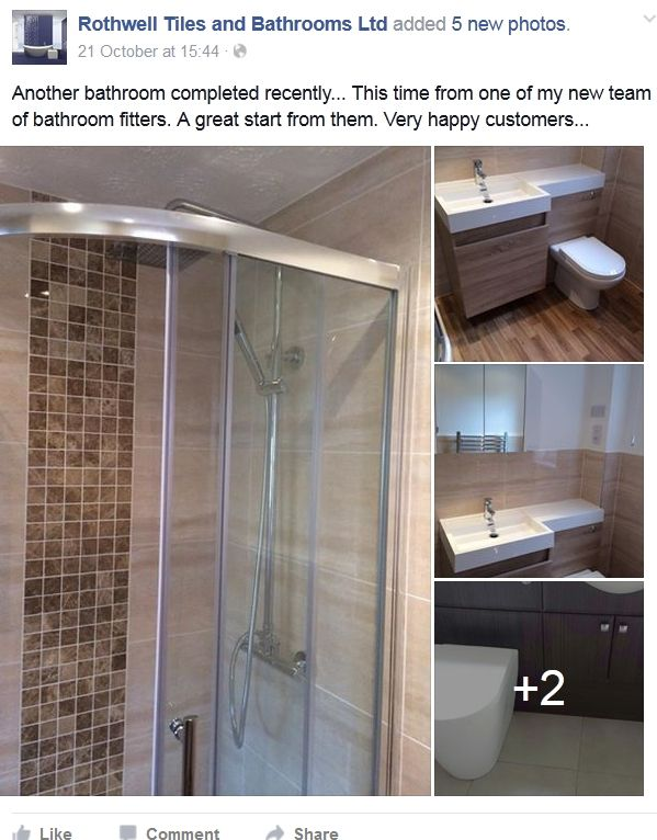 Another Bathroom Completed Recentlythis Time From One Of My Stunning Bathroom Design Northampton Inspiration Design