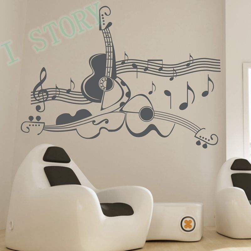 diseño de musica para pared - Buscar con Google notas musicales